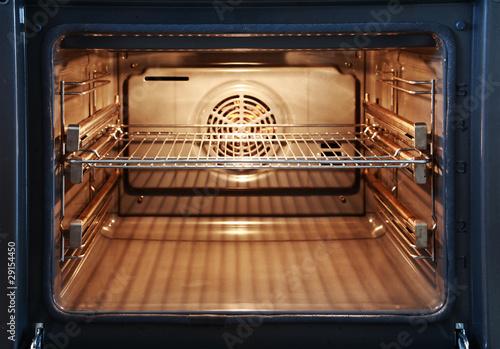 Open oven Fototapet