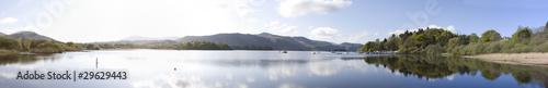 Fotografiet Derwent Water Panorama