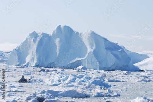 Wallpaper Mural Mountain iceberg
