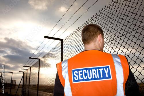 Fotografie, Obraz security guard