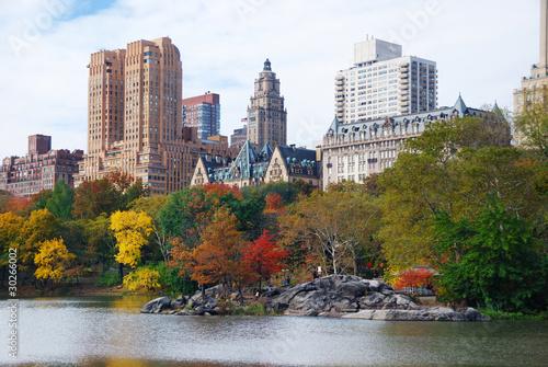 Canvas New York City Manhattan Central Park