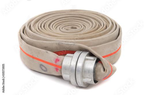 Obraz na płótnie fire fighter hose