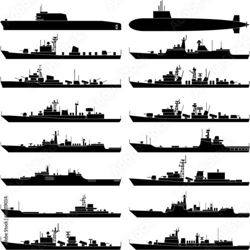 Wallpaper Mural Warship