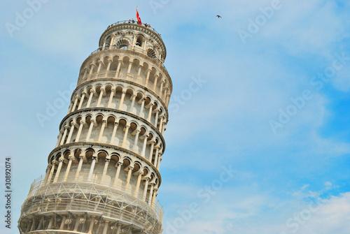 Leaning tower of Pisa, Italy Fototapeta