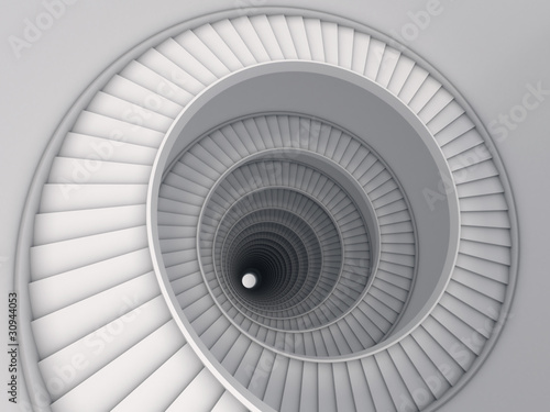 Spiral stair Fototapete