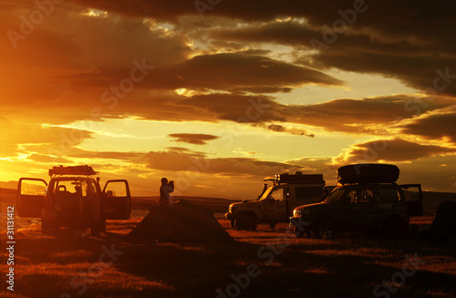 Tableau sur Toile Car in expedition
