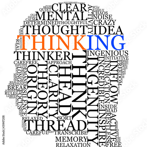 thinking in your head #31447208