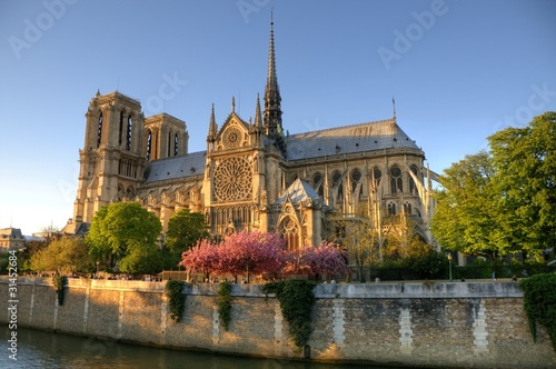 Fototapeta Paris (France) - Notre Dame Cathedral
