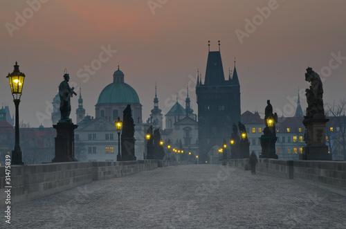 Canvas Print Charles Bridge, Prague