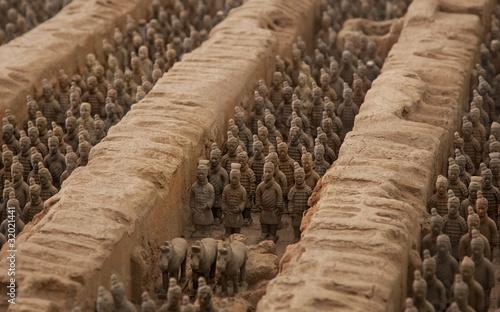 Valokuvatapetti Terracotta warriors