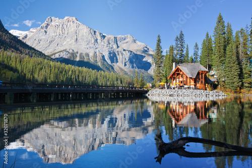 Fotografie, Obraz Emerald Lake, Alberta, Canadian Rockies