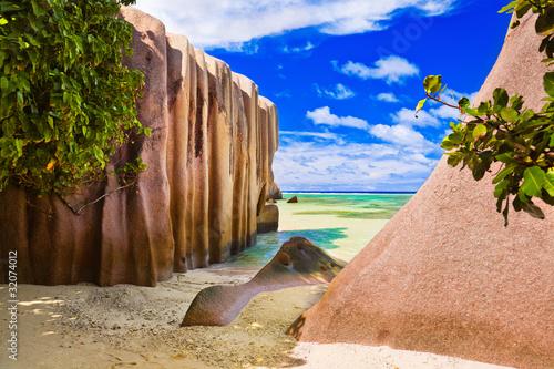 Carta da parati Beach Source d'Argent at Seychelles