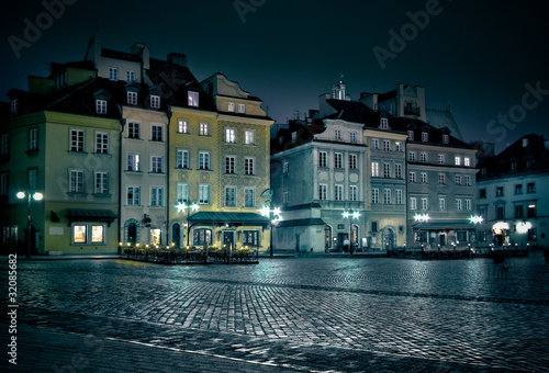 Warsaw Old Town #32085682