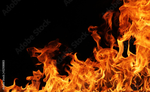 Fire background #32108883