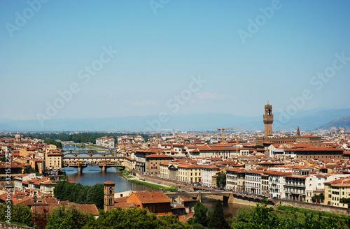 Fototapeta premium Florencja - Toskania