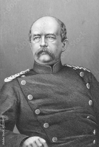 Photographie Otto von Bismarck