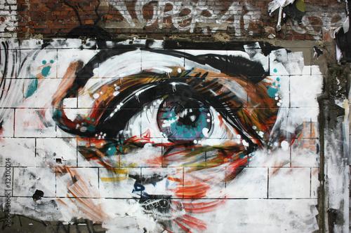 Fresque - oeil
