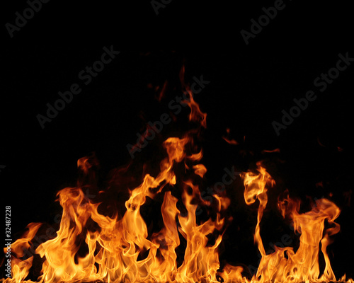 Fire background #32487228