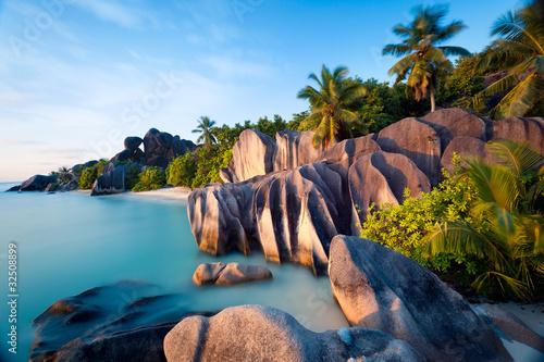 Fotografie, Obraz Anse Source d'Argent, la Digue, Seychelles
