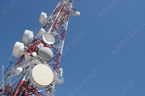 Foto Telecommunications tower