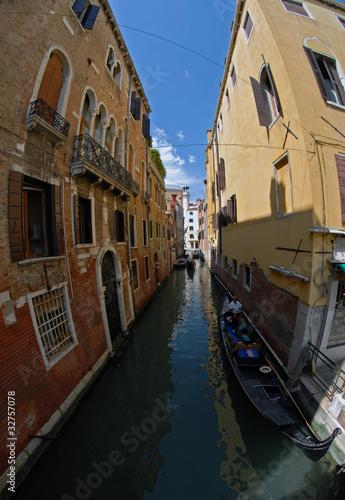 Gondola w Wenecji.