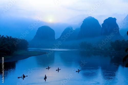 Fototapeta scenery in Guilin, China