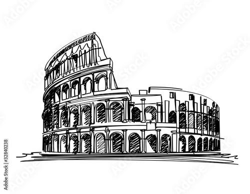 Slika na platnu Colosseum