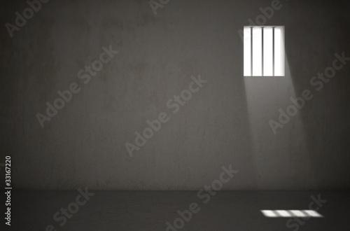 Wallpaper Mural Cellule de prison 1