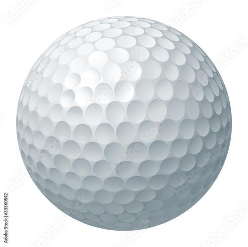 Golf ball illustration Fototapet