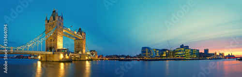 Photographie Tower Bridge and Southwark.