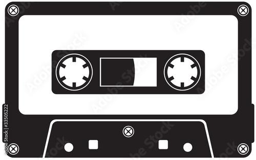 Obraz na plátně Audio cassette tape