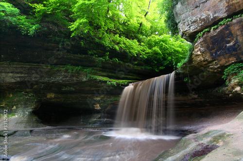 Obraz na płótnie Starved Rock State Park - Illinois