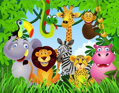 Animal cartoon #33556267