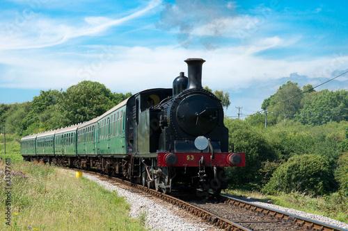 Fototapeta steam train
