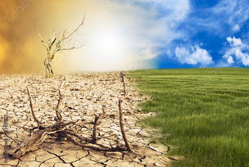 Slika na platnu cambio climatico