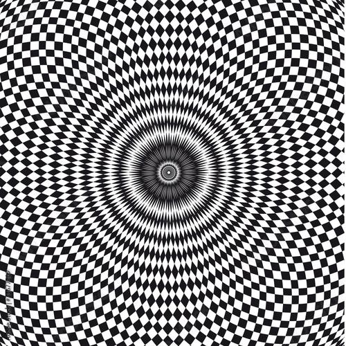 Photo vecteur, illusion d'optique