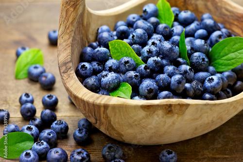 Cuadros en Lienzo blueberry