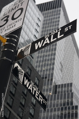 Fototapeta premium Nowy Jork - Wall Street