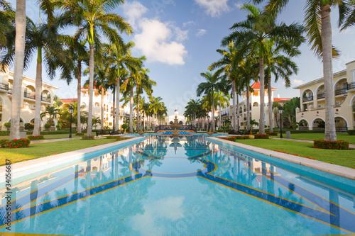 Fotografie, Obraz Luxury resort in Mexico