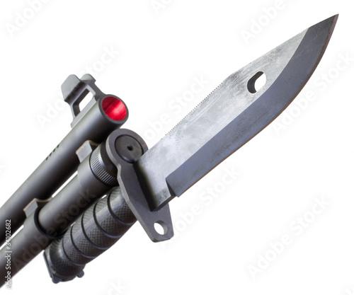 Foto Shotgun mounted bayonet