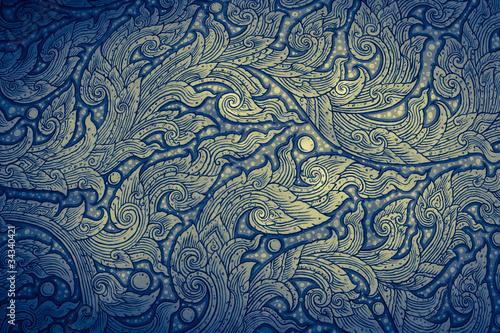 Fototapeta Thai art painting