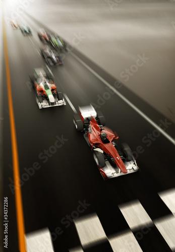 Photo F1 racing