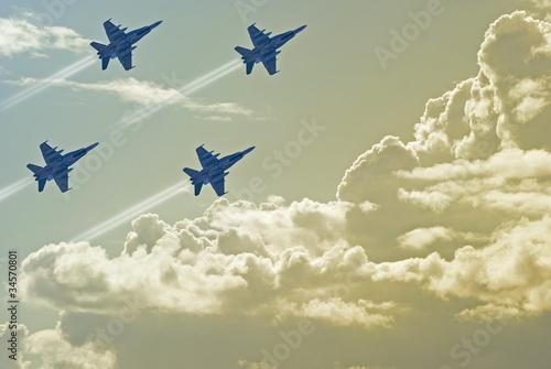 Canvas Print Air Force