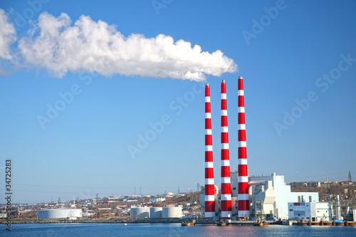 Coal Fired Power Plant Fototapete