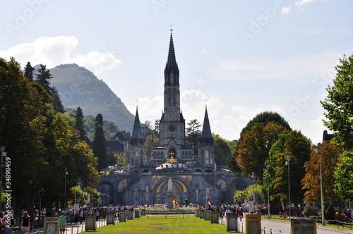 Fotografie, Obraz Grotte de Lourdes