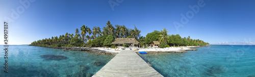 Obraz na płótnie Paradise island panoramic view