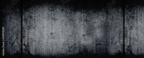 Fotografia, Obraz Dark Grunge Horizontal Background