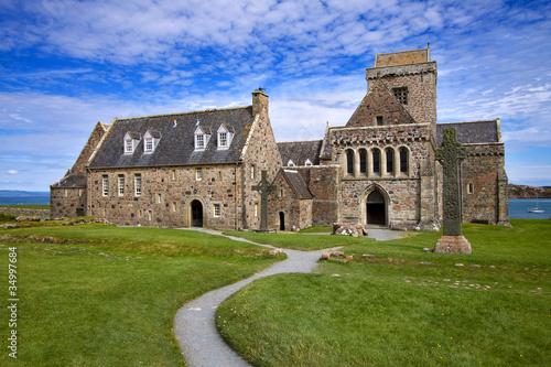 Fotografia, Obraz Iona Abbey, Inner Hebrides, Scotland