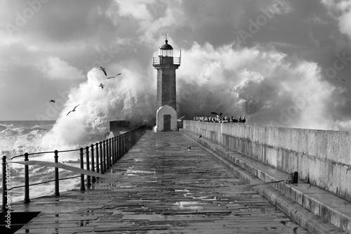 Lighthouse, Foz do Douro, Portugal
