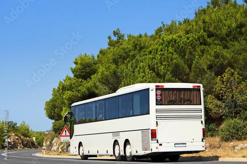 Canvas Print Bus Travel